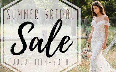Summer Bridal Sale