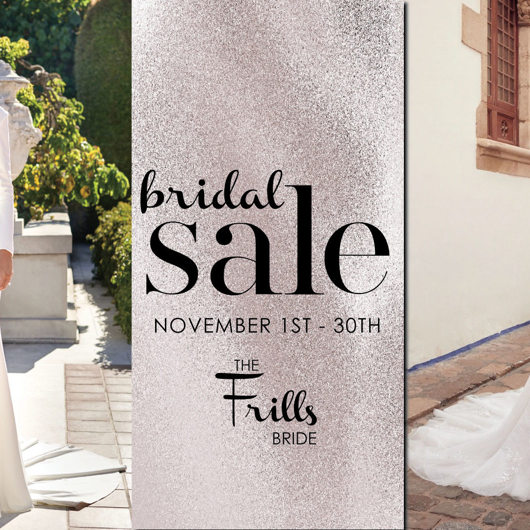 Fall Bridal Sale 2020