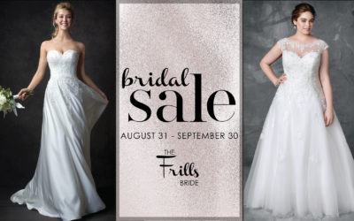 Fall Bridal Sale 2019